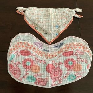 Aden + Anais / Tea Collection Burpy Bibs and Bibs
